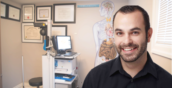 Dr. Eric Guillemette at Broadview Spine & Health Centre