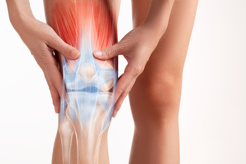 person with tendonitis musculoskeletal disorder